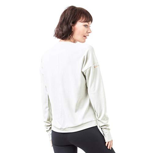 A raw Manica Adidas Sn W Run Donna Lunga White Cru White shirt T WwY6Pqw0