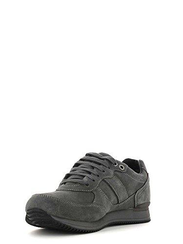 Calzado deportivo para hombre, color gris , marca GEOX, modelo Calzado Deportivo Para Hombre GEOX U RUSH B ABX Gris