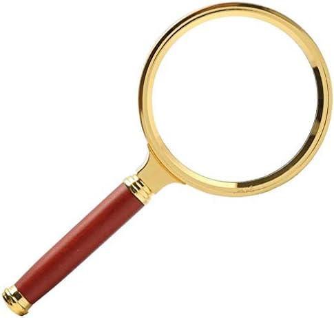 ZY-YY 80MM子供の読書眼鏡の拡大鏡HDハンドヘルド光学拡大鏡10回ザ・リーディング