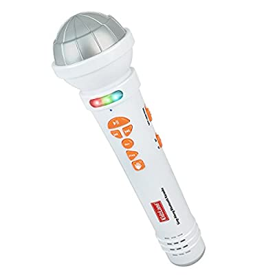 Microphone for Kids - Karaoke Machine Sing-A-Long Music Player with Built In Speakers, Preprogrammed Music and Bluetooth Connection
