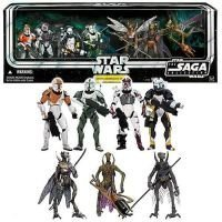 Star Wars: 'Republic Commando Delta Squad' Internet Exclusive Action Figures Box Set Clone Wars Xbox