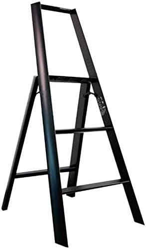 Escalera unilateral Equipo de escalada en espiga plegable, recto, multifunción, conjunto completo para el hogar, 4 colores, escalera de 3 peldaños de doble uso (color: rojo, tamaño: 529x738x1223 mm): Amazon.es: Hogar