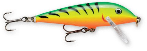 Rapala CountDown (Fire Tiger, 4 3/8-Inch)