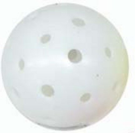 Seamless Pickle Ball Balls (White) - 1 Dozen by Olympia Sports
