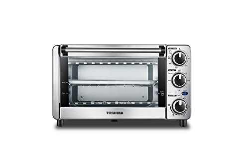 Toshiba MG12GQN-SS Toaster Oven, Stainless Steel (Breville Bov650xl The Compact Smart Oven Stainless Steel)