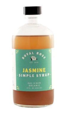 Royal Rose Jasmine Simple Syrup 8oz