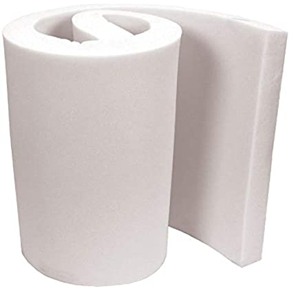 Image of Air Lite Extra High Density Urethane Foam for Projects, 4 by 24 by 82-Inch, White FOB:MI