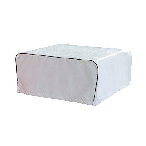 ALEKO RVACC04 Weather-Resistant RV Air Conditioner Cover 39 x 28 Inches White by ALEKO