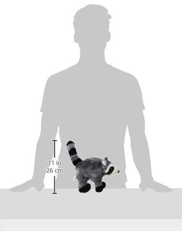 Ethical Pet Woodland Series 12.5-Inch Raccoon Plush Dog Toy, Large