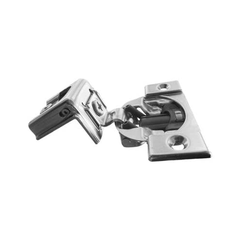 """Blum, Compact Blumotion 39C (New Bmn) Hinge & Plate, For 1"""" Overlay, Wraparound, Screw-On, 10-Pack"""