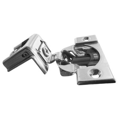 Blum Compact 39C Blumotion Wraparound Screw-On Hinge & Plate - 1-1/2'' Overlay (50 Pack) by Blum (Image #1)