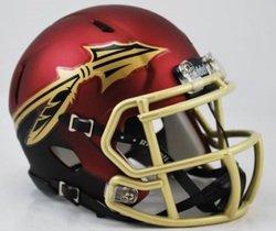 (Riddell Florida State Seminoles Speed Mini Replica Garnet Football Helmet)