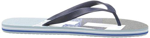 DC Shoes Spray Graffik M Sndl - Zapatillas Hombre Varios Colores - Mehrfarbig (NAV)