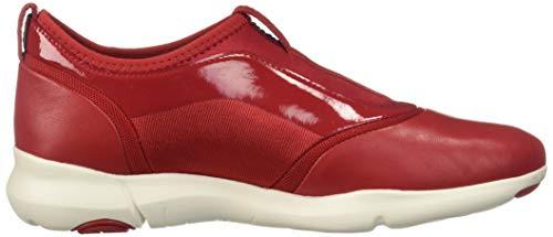 Sneakers Red Geox Nebula Women's D S Iqr4xXrP
