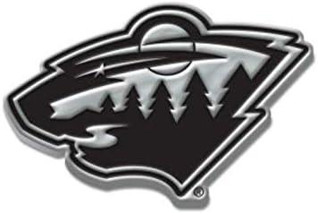 NHL Chrome Automobile Emblem