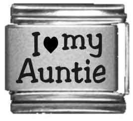 I Heart my Auntie Laser Etched