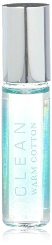 CLEAN Warm Cotton Eau De Parfum Rollerball, Warm Cotton, 0.17 fl. oz.[5 ml]
