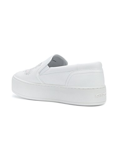 Kenzo Slip On Sneakers Donna F852SN400L7201 Bianco