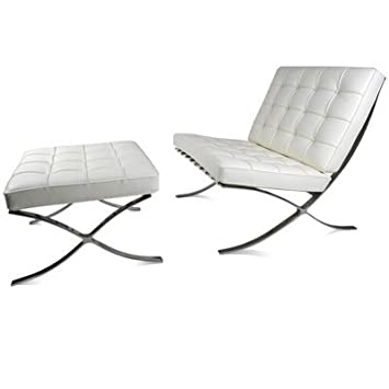 Mies Van Der Rohe Barcelona Chair/ Designklassiker/ Design Möbel /Leder  Sessel