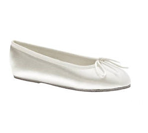 Dyeables Kids Shoe (Child Kids Dyeable Satin Ballet Shoes)