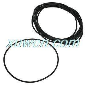 Mercury_Group Gaskets, 140mm X 3 5mm Black Nitrile Rubber O Ring NBR Sealing Gaskets 10 Pcs