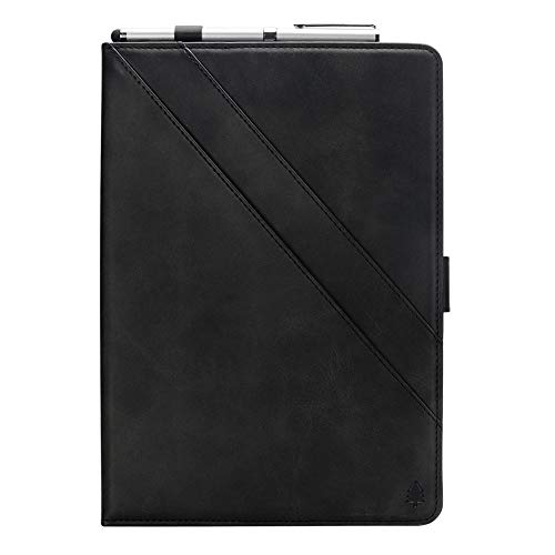 Price comparison product image iPad Pro 11 Case Wallet,  taStone Premium PU Leather Business Folio Cover Stand Case with Card Holder Auto Wake / Sleep Document Pocket for 11 inch 2018 Release iPad Pro 11,  Black
