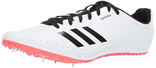 adidas Men's Sprint Star, White/Black/Shock red 9 M US ()