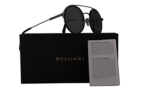 Bvlgari BV5042 Sunglasses Matte Black w/Grey Lens 50mm 19587 BV 5042 - Com Www Bulgari