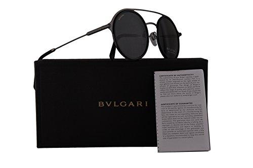 Bvlgari BV5042 Sunglasses Matte Black w/Grey Lens 50mm 19587 BV 5042 - Bulgari Com Www