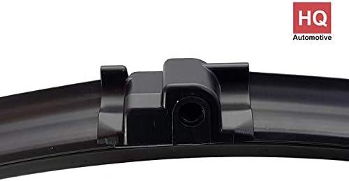ADM72-722 Twin Box Set of Front Frameless Flat Aero Wiper Blades HQ Automotive