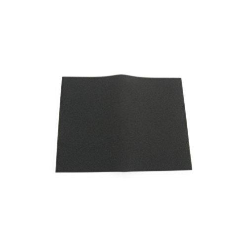 Uni Bulk Fine Foam Filter (60 PPI) - 12in. x 16in.x 3/8in. - Black BF-4