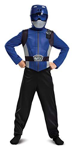 Blue Power Ranger Beast Morphers Basic Boys' Costume
