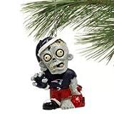 New England Patriots NFL Zombie Christmas Ornament