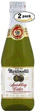 (Martinelli's Gold Medal Sparkling Cider, 8.4 OZ Jar (Pack of 2, Total of 16.8)