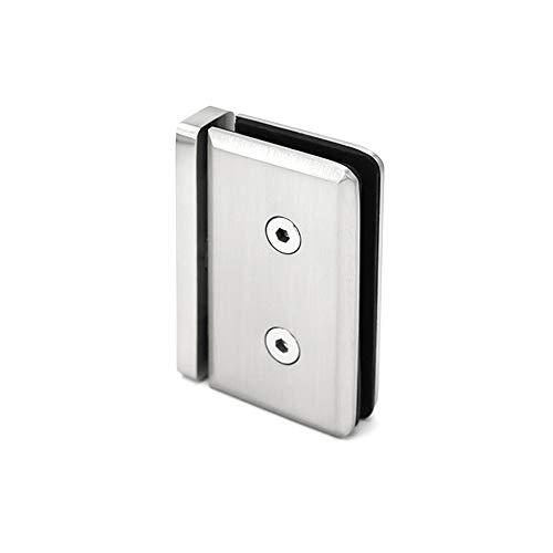 360 Degree Pinnacle Wall Mount Shower Door Glass Bracket for 1/2