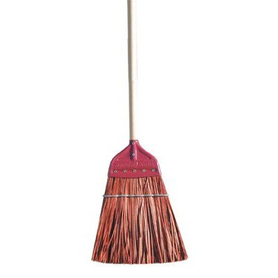 Metal Cap Brooms - palmyra stalk metal-capupright bro