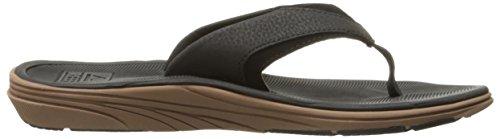 Rif Heren Moderne Sandaal Zwart / Bruin