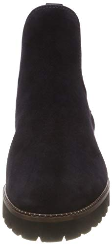 Mujer Maripé Para Botas camoscio Azul 13 27443 Chelsea Blu nxPATx