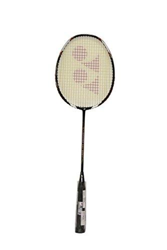 YONEX Voltric 100 Taufik Strung Badminton Racquet   Black , G4 , 80 84.9 grams , 24 lbs