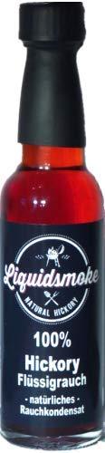 Liquid Smoke Hickory – 100% pure vloeibare rook – 100 ml vegan zonder toevoegingen