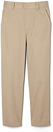 French Toast Boys Pull-on Relaxed Fit School Uniform Pant (Standard & Hu