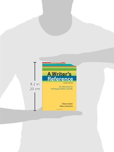 A Writer's Reference with Resources for Multilingual Writers and ESL by Bedford/St. Martin's