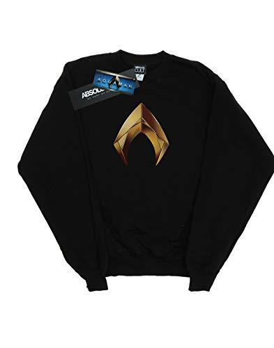 De Entrenamiento Emblem Mujer Aquaman Dc Comics Negro Camisa wnS6axXq