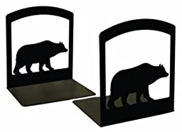 Village Wrought Iron BE-14 Bear Bookends