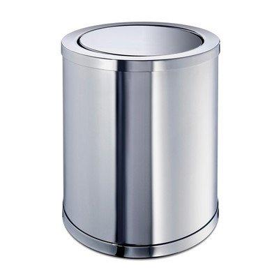 Windisch 89183-CR-637509882365 Accessories Collection Luxury Waste Bin, Chrome
