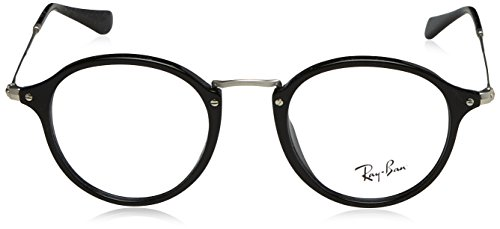 Ray Black For Phantos ban Sunglasses Shiny 0rx2447v Mens 0qg0wF