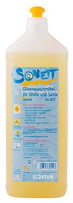 Sonett, Olivenwaschmittel für Wolle und Seide NEUTRAL , 1Ltr