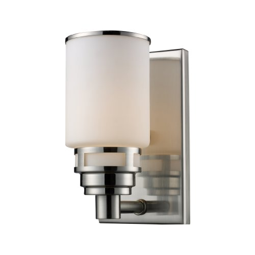 Elk 1 Light Vanity (Elk 11264/1 Bryant 1-Light Vanity In Satin Nickel)