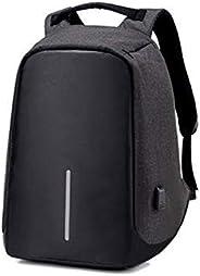 Mochila Anti-furto Compartimento Para Notebook Laptop Saída USB Carregamento De Dispositivos