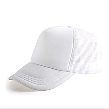 Starworld - Gorra de golf con malla, gorra unisex para personalizar, niña, blanco, talla única: Amazon.es: Deportes y aire libre